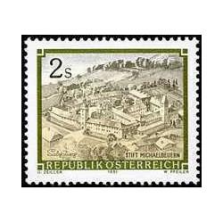 1 عدد تمبر صومعه  Michaelbeuern Benedictine  - اتریش 1991