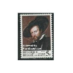 1 عدد تمبر پیتر پاول روبنز نقاش - بلژیک 1977