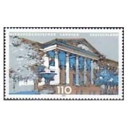 1 عدد تمبر پارلمان هانور - جمهوری فدرال آلمان 2000