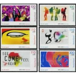 6 عدد تمبر نمایشگاه اکسپو هانور - جوانان - جمهوری فدرال آلمان 2000