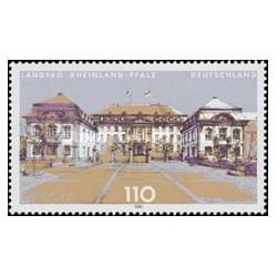 1 عدد تمبر پارلمان استانها - Rheinland Pfalz - جمهوری فدرال آلمان 2000