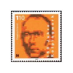 1 عدد تمبر کولپینگ - کشیش کاتولیک - جمهوری فدرال آلمان 2000