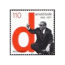 1 عدد تمبر یادبود آرنولد بوده - نقاش - جمهوری فدرال آلمان 2000