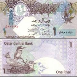 اسکناس 1 ریال قطر 2003 تک