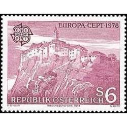 1 عدد تمبر مشترک اروپا - Europa Cept - منظره  - اتریش 1978
