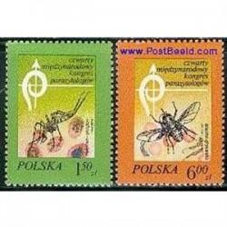 2 عدد تمبر کنگره انگل شناسی - لهستان 1978