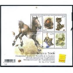 مینی شیت حیوانات - بلژیک 2004