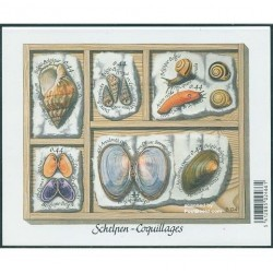 سونیرشیت حلزونها و صدفها - بلژیک 2005