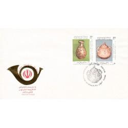 پاکت مهر روز تمبر روز جهانی موزه 1366
