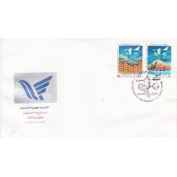 پاکت مهر روز تمبر روز جهانی هواشناسی 1368