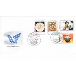 پاکت مهر روز تمبر روز جهانی صنایع دستی 1368