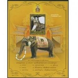 سونیرشیت یادبود پادشاه - فیل - تایلند2007