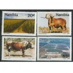 4عدد تمبر کشاورزی - نامیبیا 1990