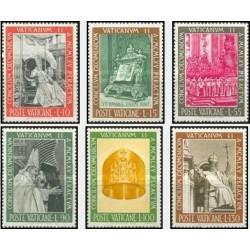 6 عدد تمبر شورای کلیسا - واتیکان 1966