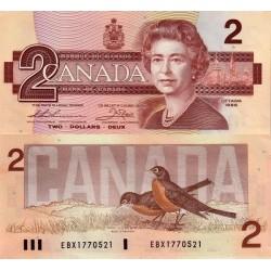 اسکناس 2 دلار - کانادا 1986