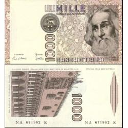 اسکناس 1000 لیر - ایتالیا 1982