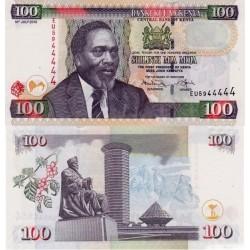 اسکناس 100 شیلینگ - کنیا 2010
