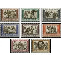 8 عدد تمبر کار خیریه - واتیکان 1960