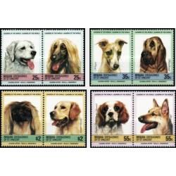 8 عدد تمبر  سگها - Bequia - گرندین سنت وینسنت  1985