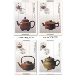4 عدد ماکزیمم کارت قوری های چایی - چین 1994
