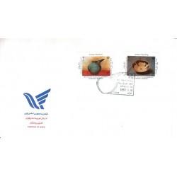 پاکت مهر روز تمبر روز جهانی موزه 1371