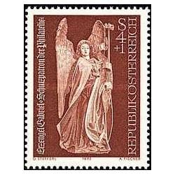 1 عدد تمبر روز تمبر - اتریش 1973