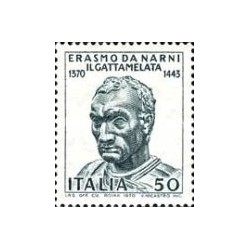 1 عدد تمبر 600مین سال تولد نارنی - ایتالیا 1970