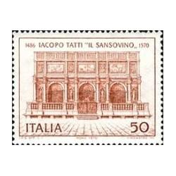 1 عدد تمبر چهارصدمین سال مرگ تاتی - نقاش - ایتالیا 1970