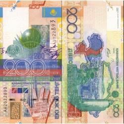 اسکناس 200 تنجه - قزاقستان 2006