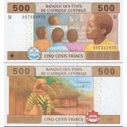 اسکناس 500 فرانک - آفریقای مرکزی 2002