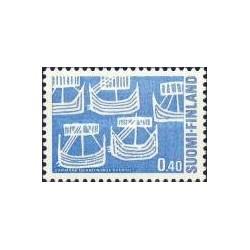 1 عدد تمبر روز شمالی - فنلاند 1969