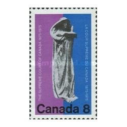 1 عدد تمبر صد سالگی دیوان عالی کانادا  - کانادا 1975