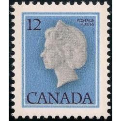 1 عدد تمبر سری پستی ملکه الیزلبت دوم - کانادا 1977