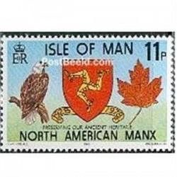 1عدد تمبر حفاظت از میراث قدیمی - جزیره من 1978