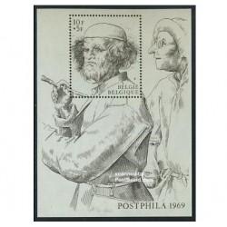سونیرشیت پست فیلا - بلژیک 1969