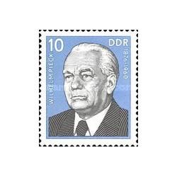 1 عدد تمبر ویلهلم پیک - رئیس جمهور آلمان شرقی- جمهوری دموکراتیک آلمان 1975