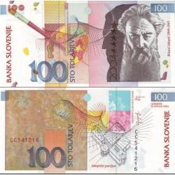 اسکناس 100 تولارجو - یادبود ورود به اتحادیه اروپا - اسلوونی 2003