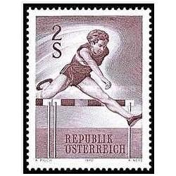 1 عدد تمبر ورزشی - اتریش 1970