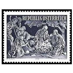 1 عدد تمبر کریسمس - اتریش 1970