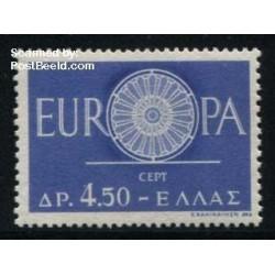 1 عدد تمبر مشترک اروپا -Europa Cept - یونان 1960