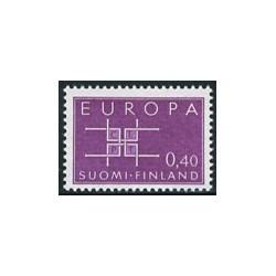 1 عدد تمبر مشترک اروپا - Europa Cept - فنلاند 1963