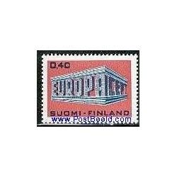 1 عدد تمبر مشترک اروپا - Europa Cept - فنلاند 1969