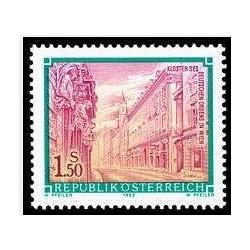 1عدد تمبر سری پستی - صومعه به سفارش آلمان در وین - اتریش 1992