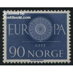 1 عدد تمبر مشترک اروپا - Europa Cept - نروژ  1960