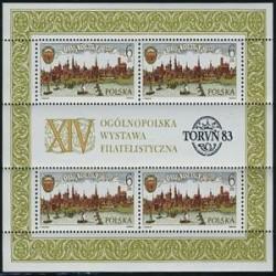 سونیرشیت نمایشگاه تمبر تورون - لهستان 1983