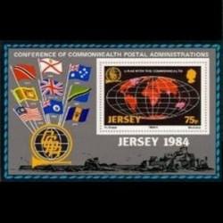سونیرشیت کنفرانس پستی کشورهای مشترک المنافع - جرسی 1984