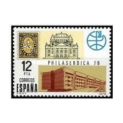 1 عدد تمبر نمایشگاه بین المللی تمبرشناسی فیلاسردیکا 1979-صوفیه - اسپانیا 1979