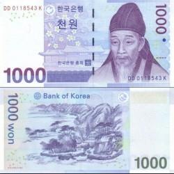 اسکناس 1000 وون - کره جنوبی 2007