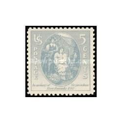 1 عدد تمبر 350مین سالگرد تولد ویرجینیا جرات - آمریکا 1937