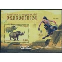 سونیر شیت انسانها و حیوانات ماقبل تاریخ - کوبا 2008
